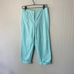 Eileen Fisher   PS. Light Blue Cropped Pants